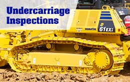 Undercarriage Inspections